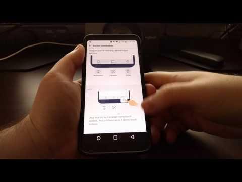 [LG G6] Customizing the Navigation Bar