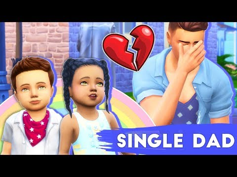 VISITING HER GRAVE💔 // THE SIMS 4 | SINGLE DAD LIFE #6