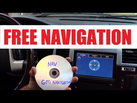 2007-2012 FREE GM Navigation disc version 10.3