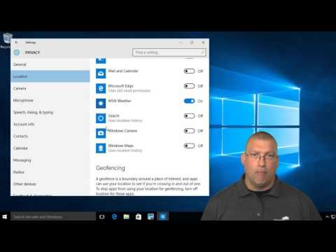 Changing default Windows 10 security settings