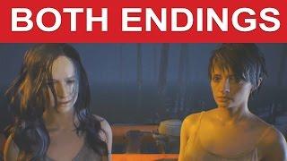 Resident Evil 7 Both Endings (Good Ending/Bad Ending) - Cure Mia/Cure Zoe