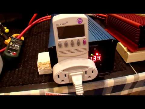 Aims 1500W Pure Sine Inverter Review and Shootout - Part 2/4