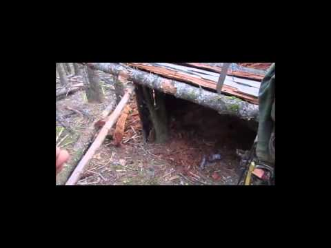 Building Natural Shelters - Part 1