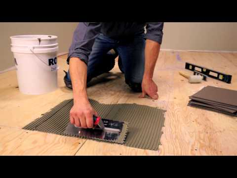 RONA - How To Lay Floor Tiles
