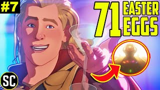 WHAT IF 1x07 Easter Eggs BREAKDOWN + Party Thor ENDING EXPLAINED | Ultron in Marvel Multiverse