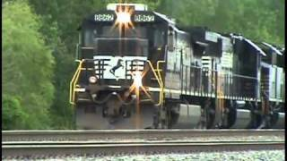 Exploding Turbo Charger: NS Locomotive Failure With a Smoke Show Near Toledo, Ohio.