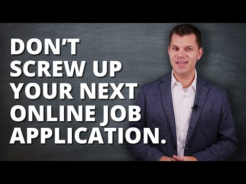 How To Properly Apply For A Job Online