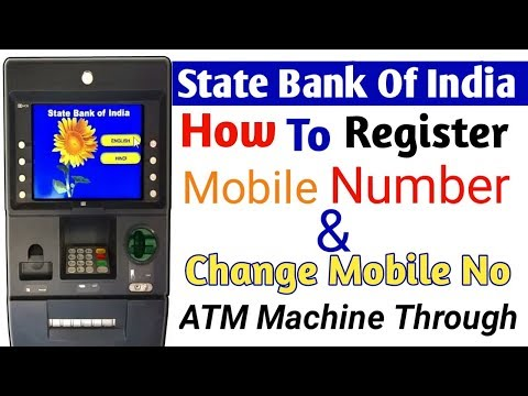 How To Register Mobile Number SBI Bank Account || SBI Bank Account mobile number change (hindi)
