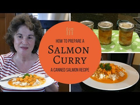 Salmon Curry - a Canned Salmon recipe