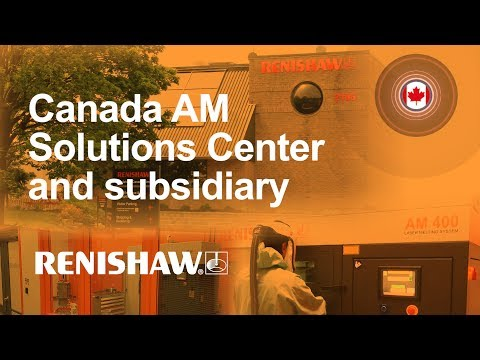 Renishaw Canada's metal 3D printing Solutions Centre