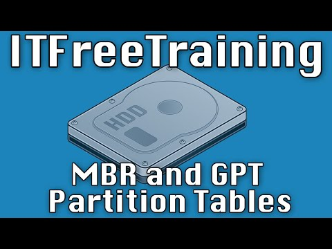 MBR and GPT Partition Tables