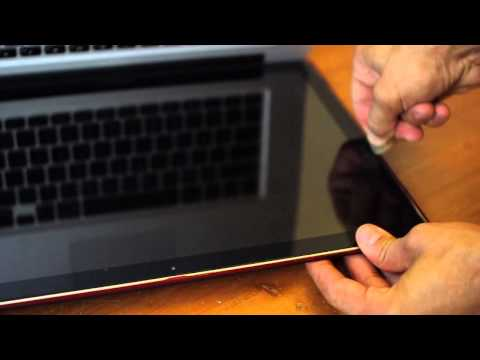Change Macbook Pro Display Glass Without a Suction Cup (HD)