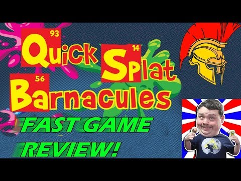 Barnacules Quick Splat FAST game review! [Bruticy]