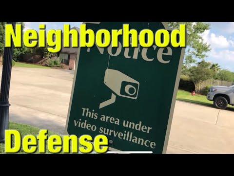 Step up your neighborhood defense
