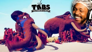 LAUGHING SO HARD AT THIS GAME | TABS: Totally Accurate Battle Simulator