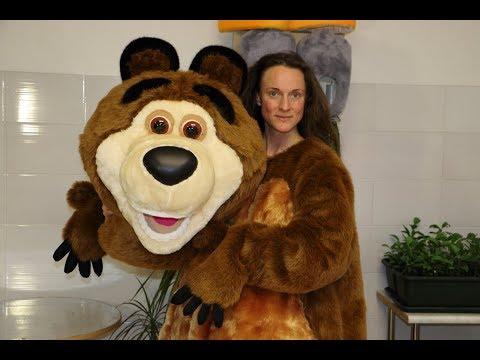 Bear mascot costume - I made mascot costumes