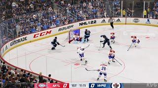 NHL 22 - Montreal Canadiens vs Winnipeg Jets - Gameplay (PS5 UHD) [4K60FPS]