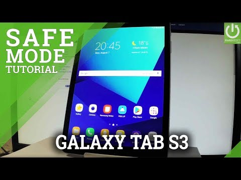 Safe Mode SAMSUNG Galaxy Tab S3 - Enter & Quit Safe Mode