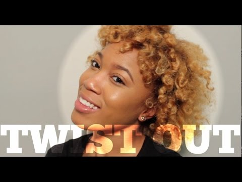 Twist Out with foam rollers | Wash Day