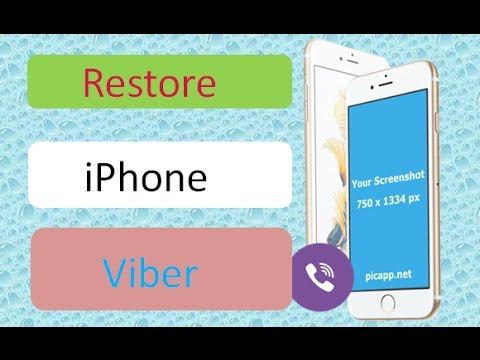 How to recover deleted viber messages on iPhone 7/7 Plus/SE/6S/6/5S/5C/5