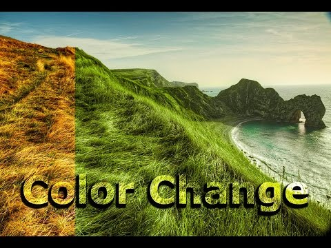 Change Grass color tutorial  Adobe Photoshop Tutorial for beginners