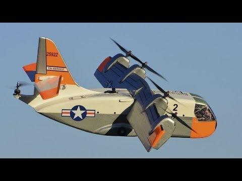 Scale Flying Model of XC-142 VTOL