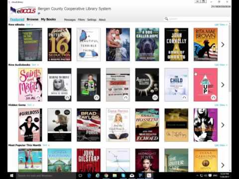 The cloudLibrary app for Windows and eink Nook and Kobo readers.