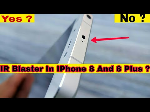 Does IPhone 8 And 8 Plus Feature An IR Blaster?