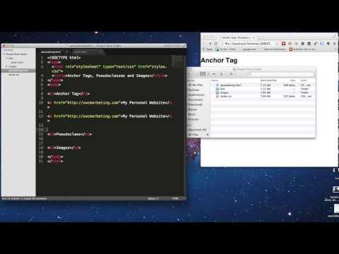 Create External Links in HTML5