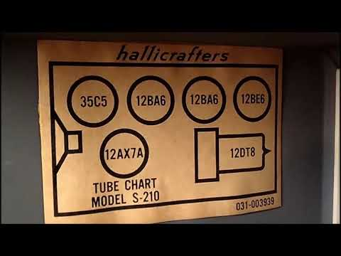Hallicrafrers S-210 My Next Project
