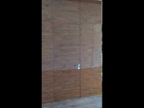 Панели со скрытой дверью / Wall Panels & Secret Door