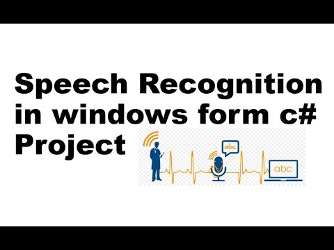 Speech Recognition Tutorial Working as Cortana and Siri in Windows Form C#