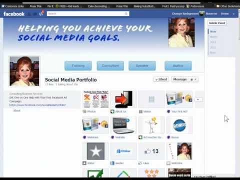 Facebook Timeline Apps: Tab Names, Images & Locations