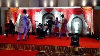 Our First Performance Aniket, Bhushan, Promila, Raviraj And Somak
