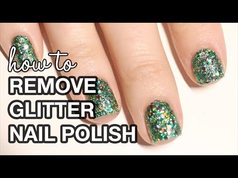 3 Glitter Nail Polish Removal Hacks    KELLI MARISSA
