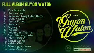 Download Full Album Guyon Waton 2018 Terbaru Mp3 Lagu Yt