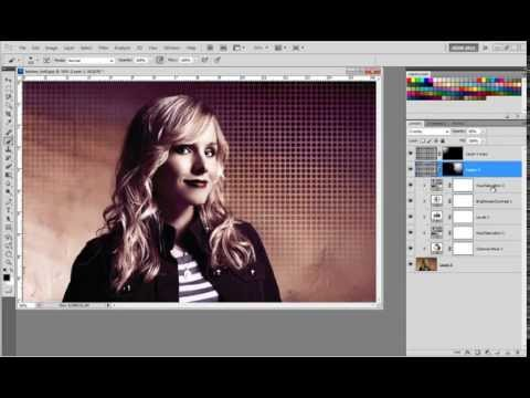 Photoshop Halftone Effect