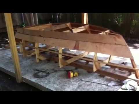 Building Lone Star Ten Rowboat Part Three