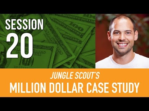 Amazon Marketing Services  PART  1 💵 Million Dollar Case Study | Jungle Scout I Session 20