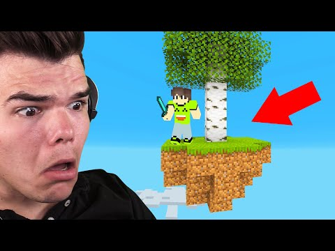 Xxx Mp4 Playing SKYBLOCK In MINECRAFT I Almost Died 3gp Sex