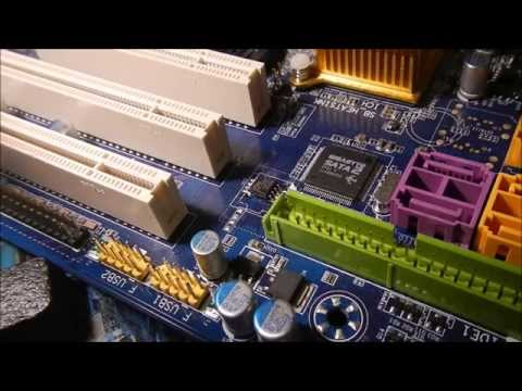 How to replace motherboard corrupted BIOS with limited tools
