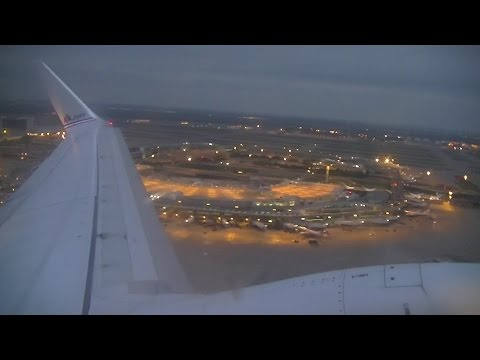 Amercian Airlines B737-800 Takeoff from Dallas-Fort Worth (DFW)