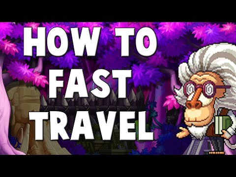[MapleStory] Quick Tip - How To Fast Travel From Town to Town