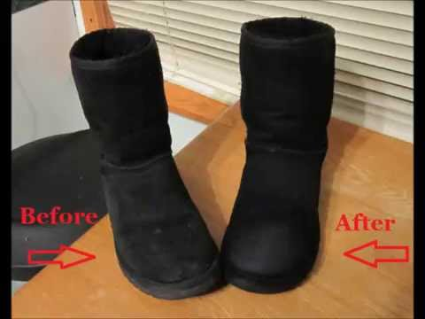 How to clean UGG boots without cleaner