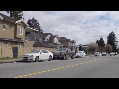 Life in Vancouver Canada - Spring & Cherry Clossoms in 2017 - Driving in East Van