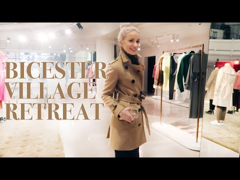 SHOPPING AT BICESTER VILLAGE AND A WELLNESS RETREAT IN THE COUNTRYSIDE | VLOG 75