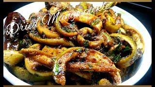 Dried mango pickle │ Amchur ka Achaar - Taj Kitchen