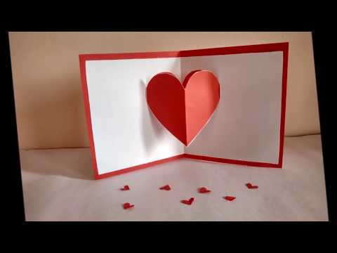 Heart pop-up card by Zainab