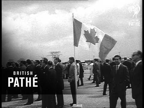 New Canadian U.S. Transport Plane - Ontario (1965)