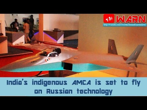 India's indigenous AMCA is set to fly on Russian technology
